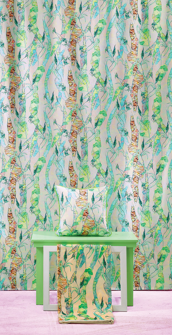 Ugly Trees fabric