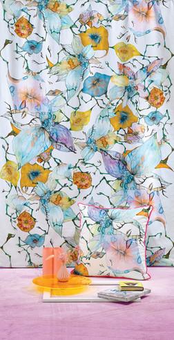 Boney Flowers fabric