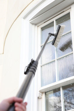 Window cleaning using Reach and Wash