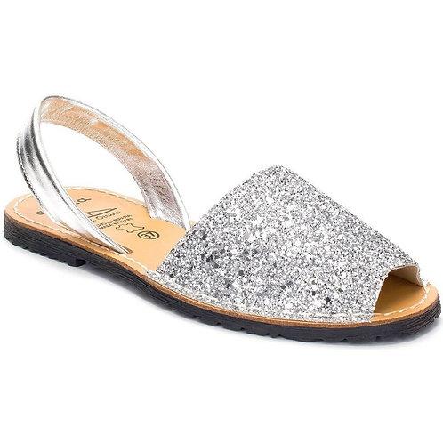 Glitter Plateadas
