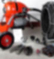 大型鋼線機 專業通渠工具