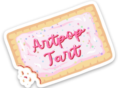 Artpop Tart Magnet