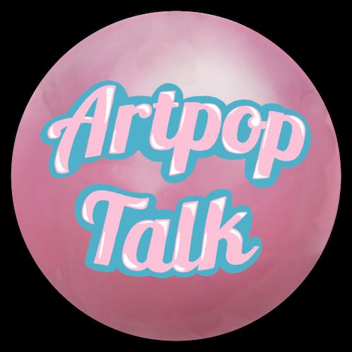Artpop Talk Bubble/ Logo Magnet