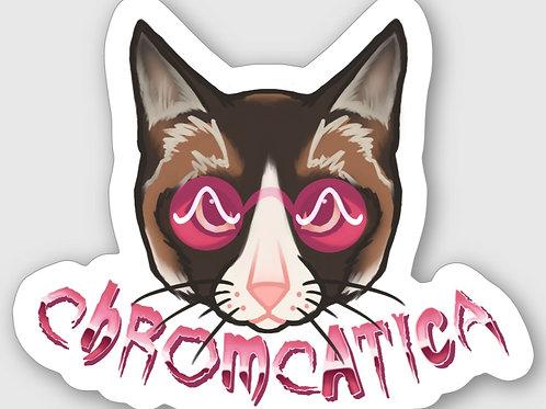 Chromcatica Sticker