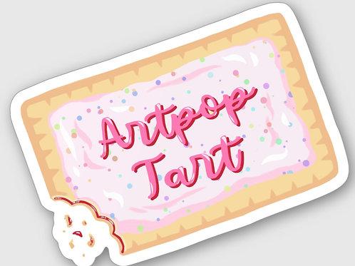 Artpop Tart Sticker