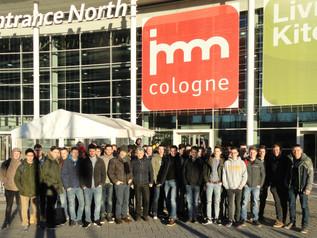 Les ébénistes et les 7ème au salon international du meuble de Cologne