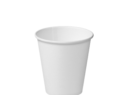 Cup Hot Paperboard Single Wall (Unlid) 280ml White