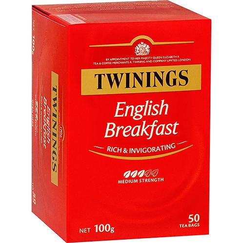 Twinings English Breakfast - 50pc