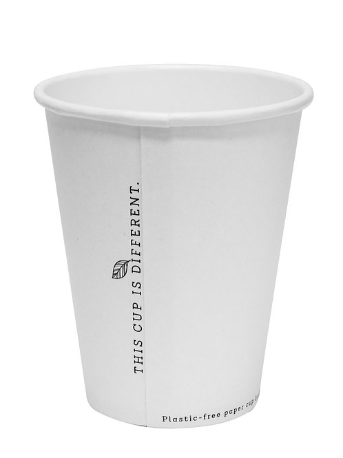 🌱 Eco Plastic Free 🌱 Cup Hot Paperboard Single wall 'Duo' white 280ml