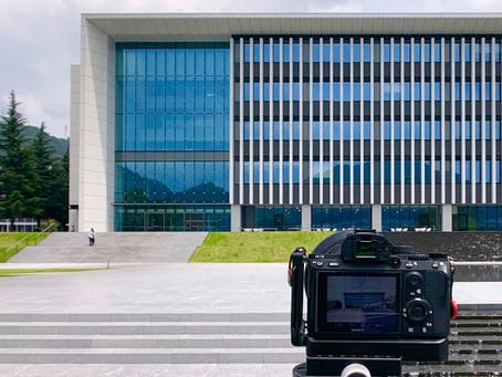広島の安田学園の撮影