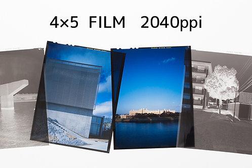 4×5FILM SCAN
