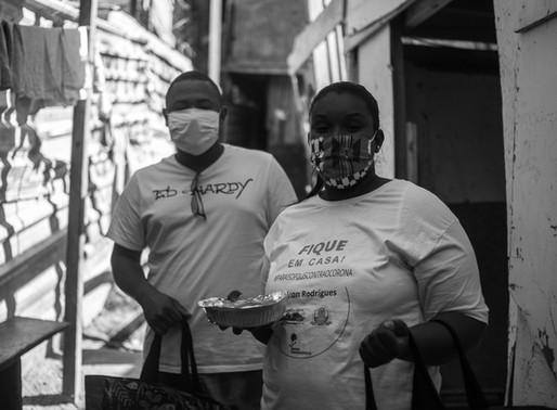 Mesmo com auxílio emergencial negado, moradora torna-se voluntária em Paraisópolis