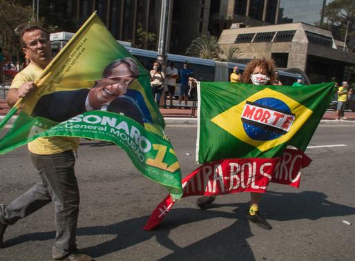 Uma tarde muito louca com bolsonaristas na Av. Paulista