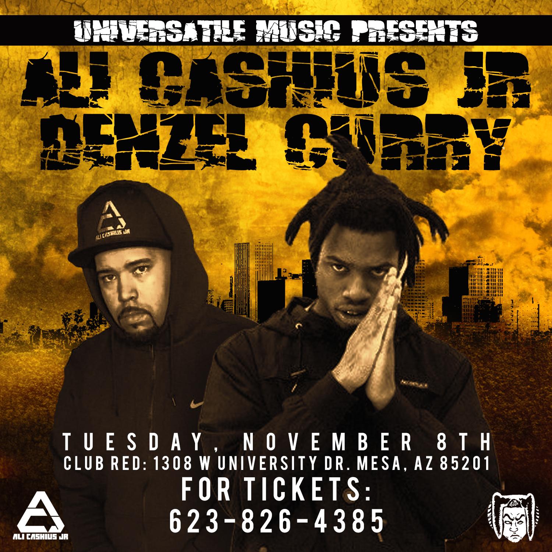 Ali Cashius Jr with Denzel Curry