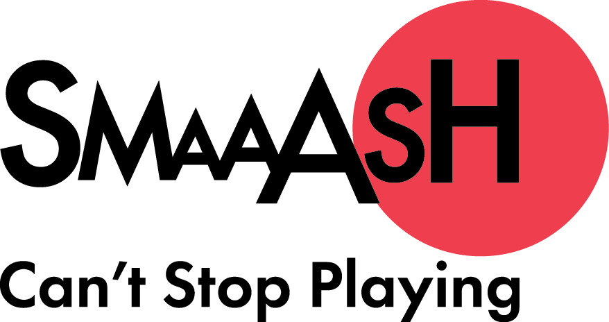 Smaaash Logo With tagline