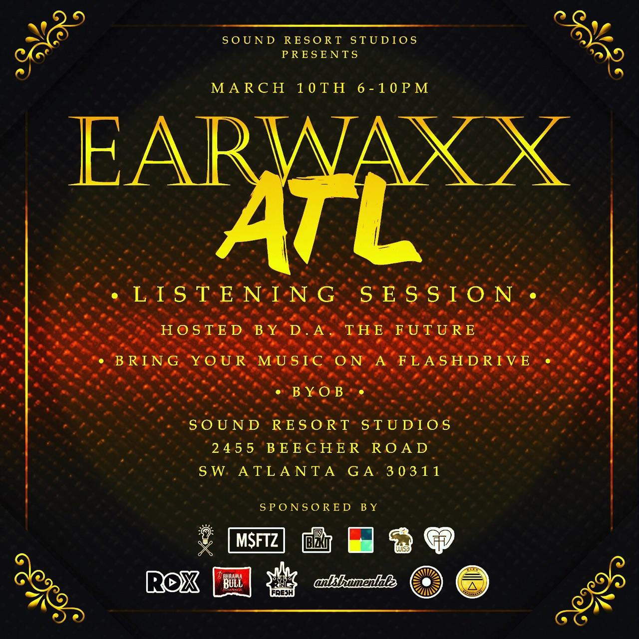 3rd Earwaxx Listening session