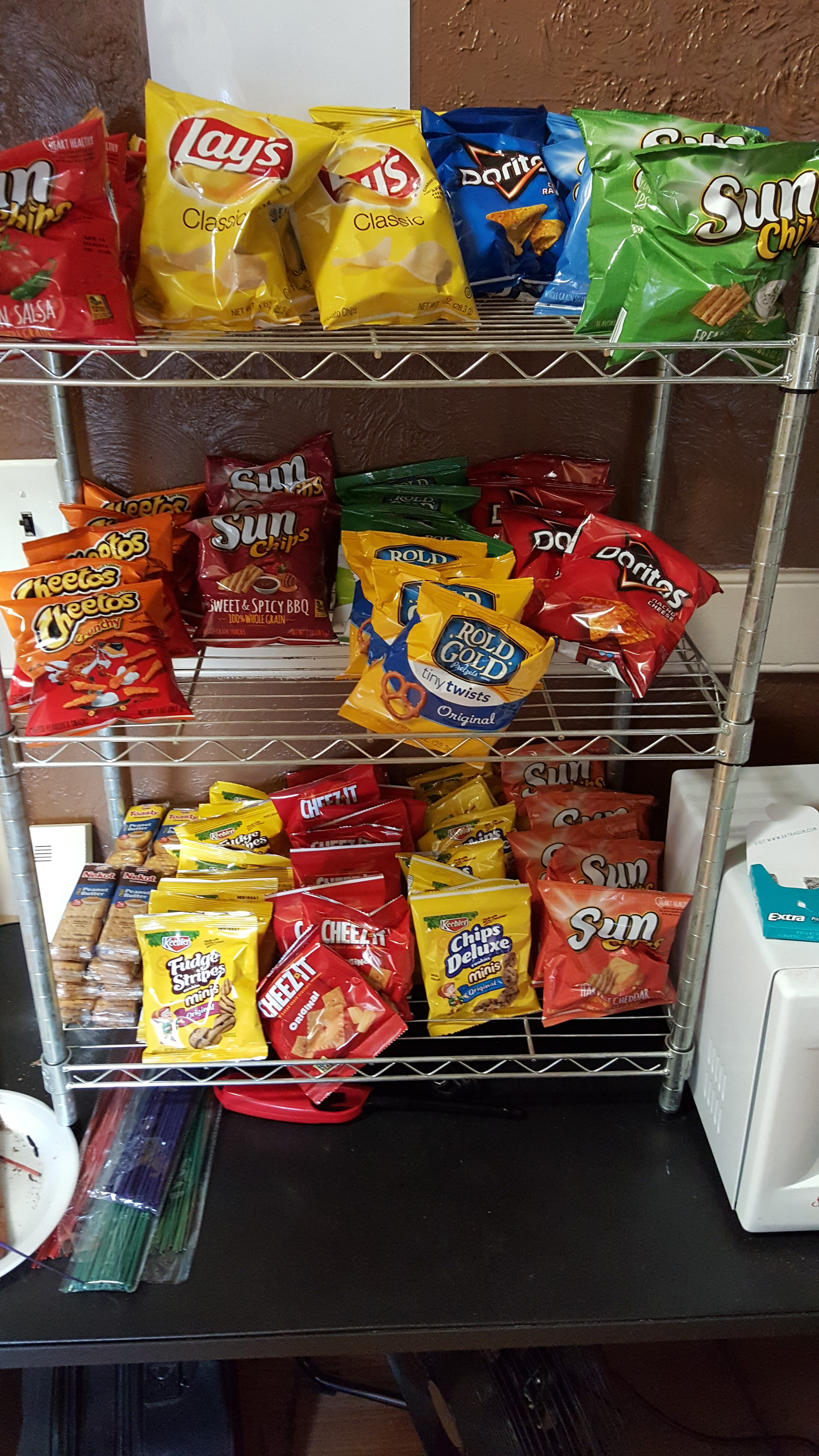 New Snack Area