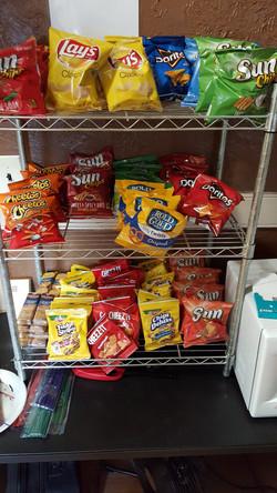 New Snack Area