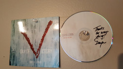 Daya Lorin's CD on The Wall