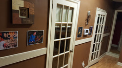 Hallway with Pictures