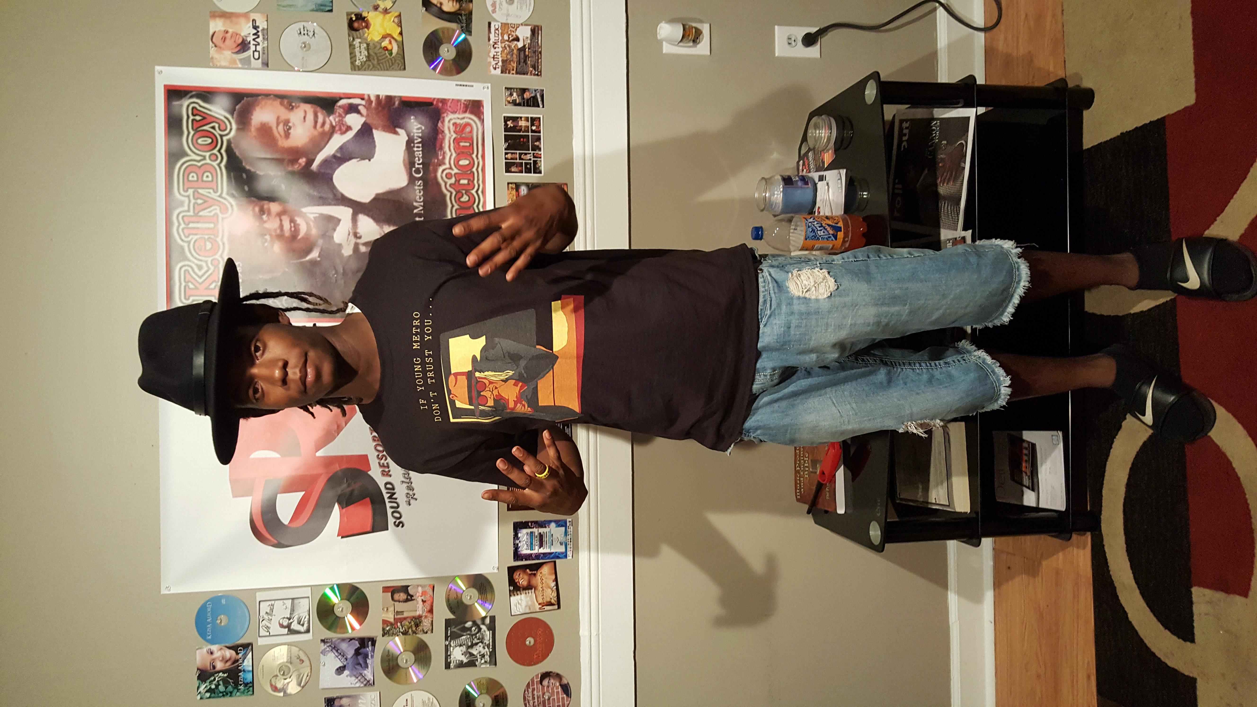 Rapper Adrien McCall