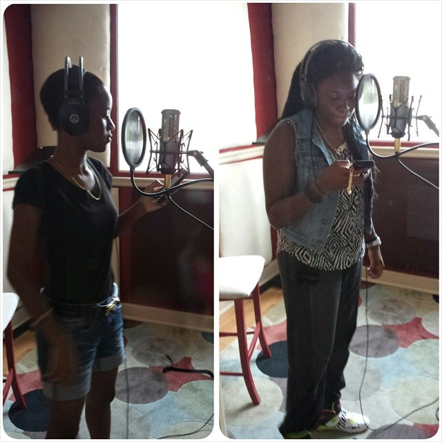 Rappers- Kid Jaycee and Chyna Cymone