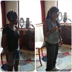 Rappers- Kid Jaycee and Chyna Cymone