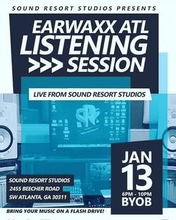 1st Earwaxx Listening session