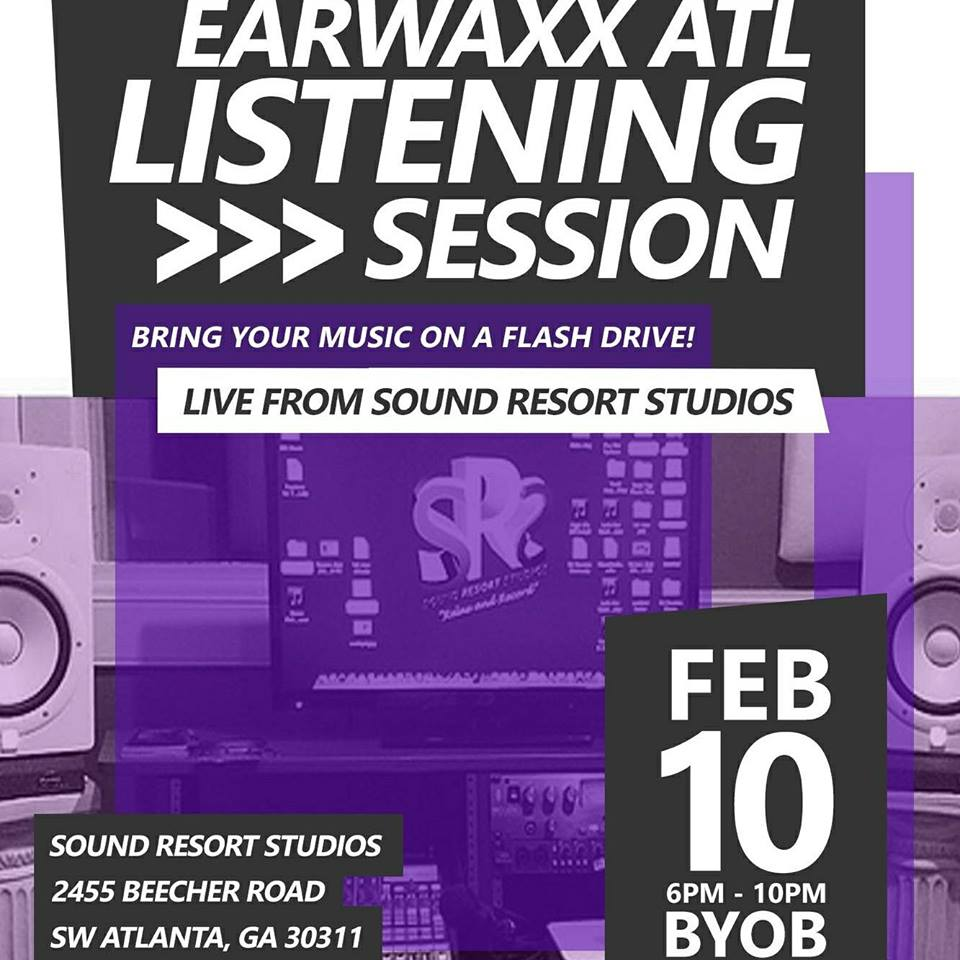 2nd Earwaxx Listening Session