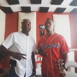 DK and guitarist Brandon A. Thomas