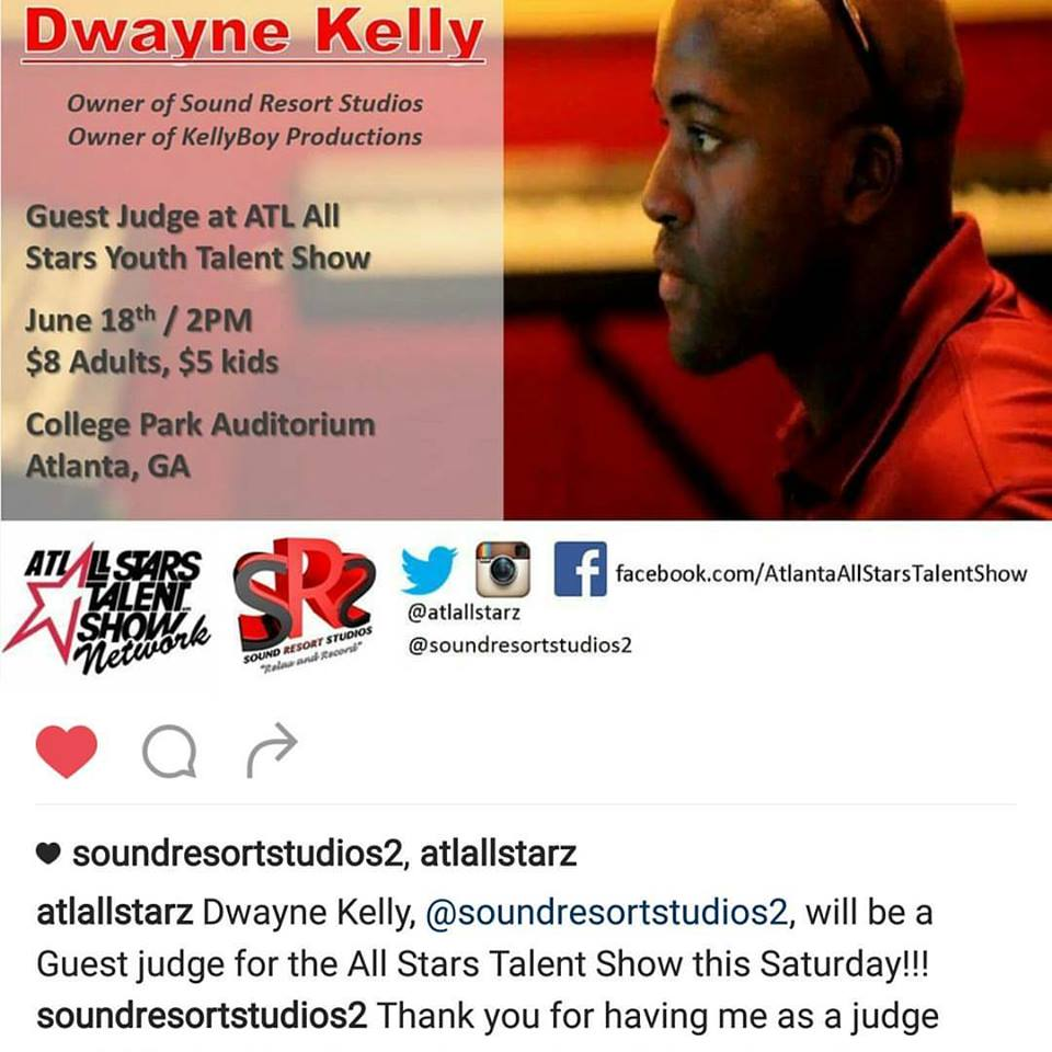 Guest Judge for ATL AllStarz