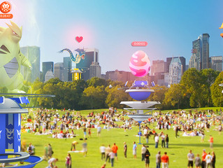 Pokémon Go Re-enchants the City
