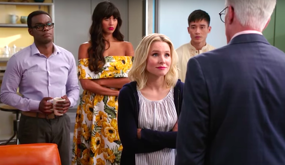 "The cast of ""The Good Place"""