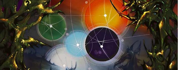 """Art from the Magic card """"All Suns' Dawn."""" Artist: Glen Angus."""
