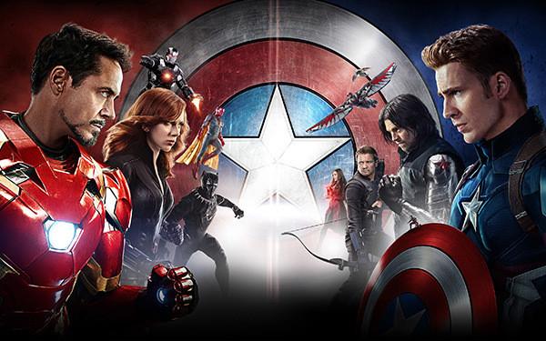 Team Iron Man vs. Team Cap
