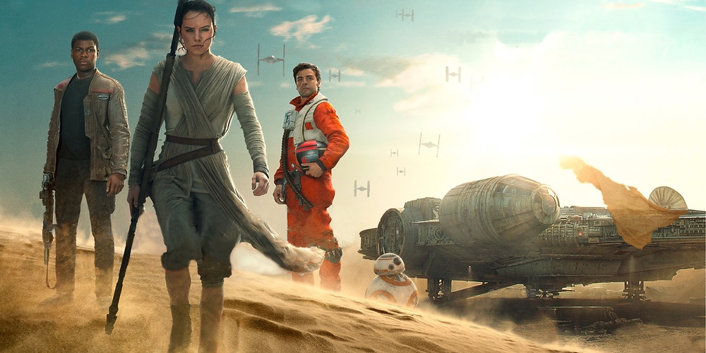 The heroes of The Force Awakens