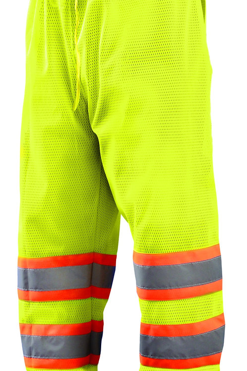 MESH PANTS SILVER REFLECTIVE STRIP