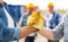 building, teamwork, partnership, gesture