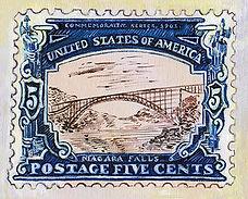 Niagara Falls Stamp