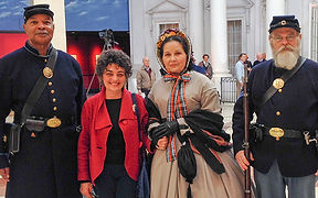 Mary Lincoln enactor