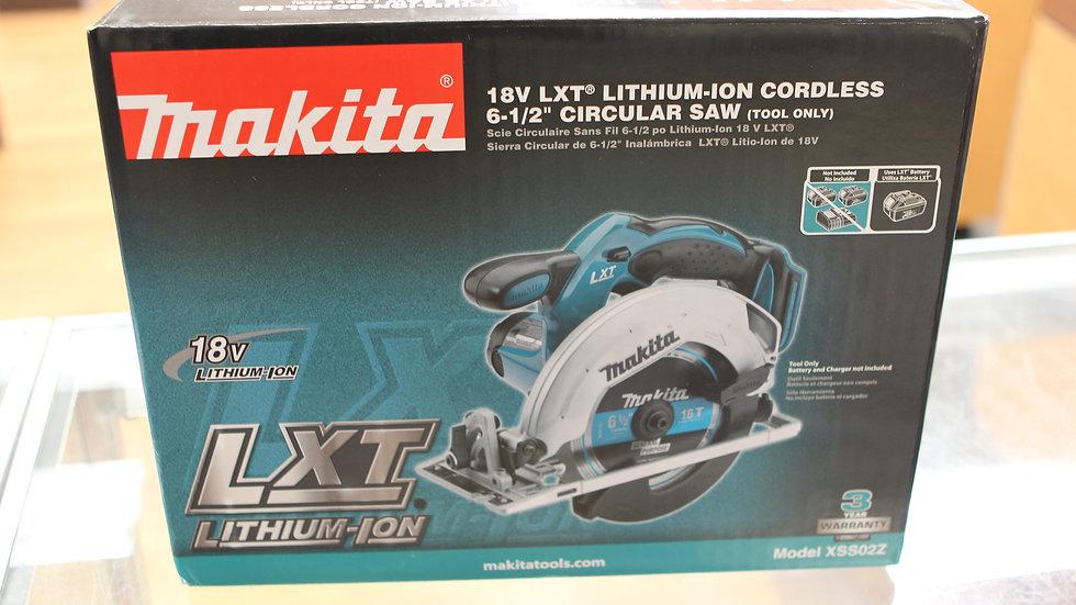 Makita 18vlt Lithium Circular Saw M#XSS02Z
