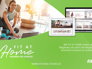 Exklusiver Zugang zu FIT AT HOME