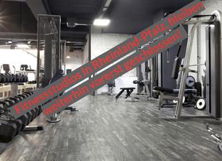 Fitnessstudios in RLP bleiben weiterhin geschlossen!