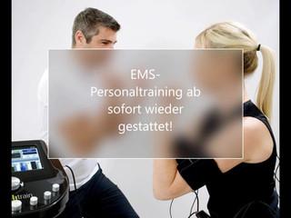 EMS-Personaltraining wieder gestattet