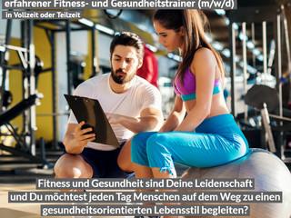 Fitness- und Gesundheitstrainer (m/w/d) gesucht