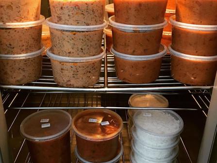 Curries, Dips & Soups Fridge