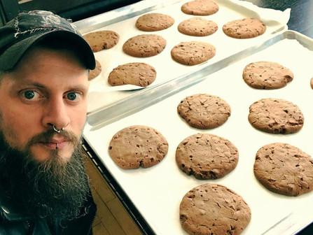 Liam & Hot Chocolate Cookies
