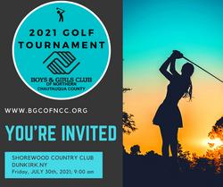 Golf Tournament Invite