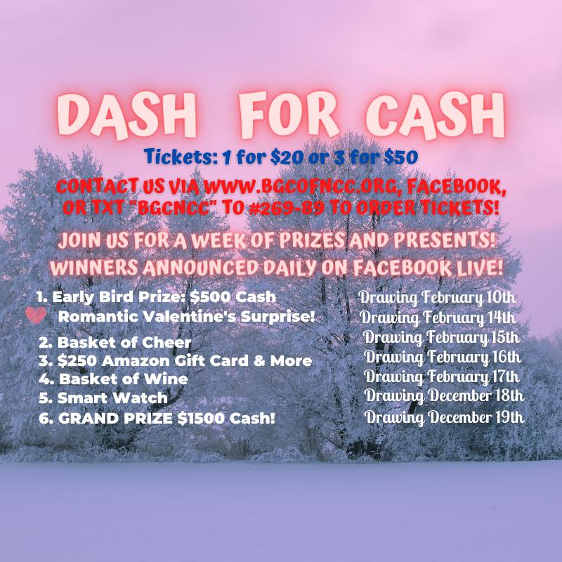 Copy of February Dash for Cash