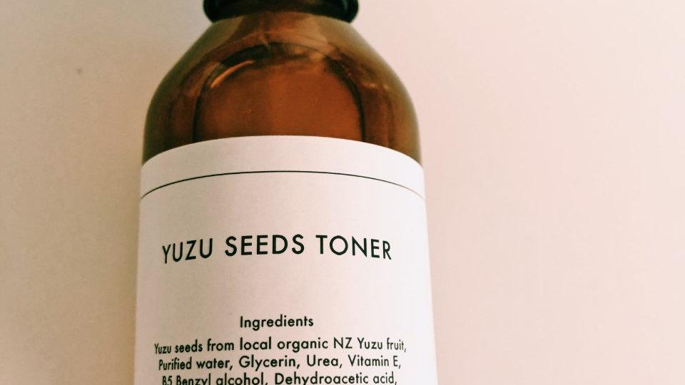 Yuzu seeds  toner